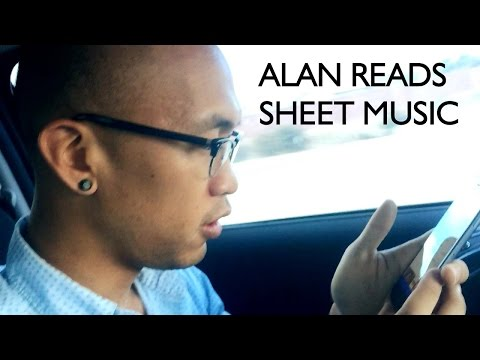 Alan Reads Sheet Music Episode 01: Jeff Goldblum Laugh