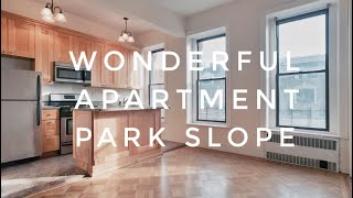 Wonderful & Sunny 2 Bedrooms Apartment in Central Park Slope! Video Tour NYC Brooklyn
