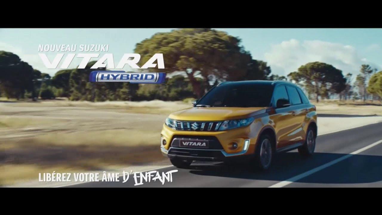 "Suzuki Vitara Hybrid ""libérez votre âme d'enfant"" Pub 20s"
