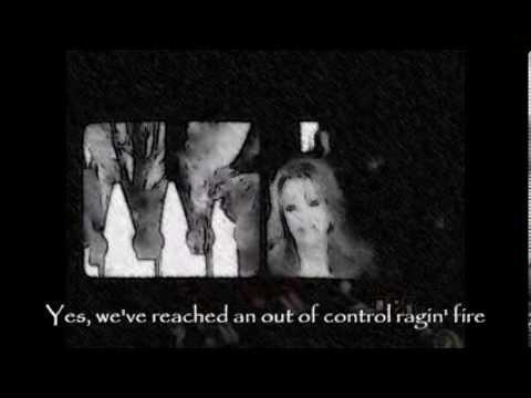 Patty Loveless & Travis Tritt - Out of Control Raging Fire (Lyrics Music Video)