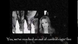 Patty Loveless & Travis Tritt - Out of Control Raging Fire (Lyrics Music Video)