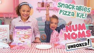 Num Noms | Unboxed! | Season 4 Episode 2: Snackables Pizza Kit!