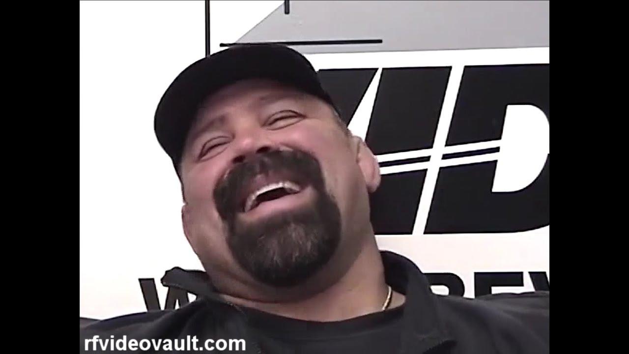 Rick Steiner on him and Scott working stiff & Car accident story