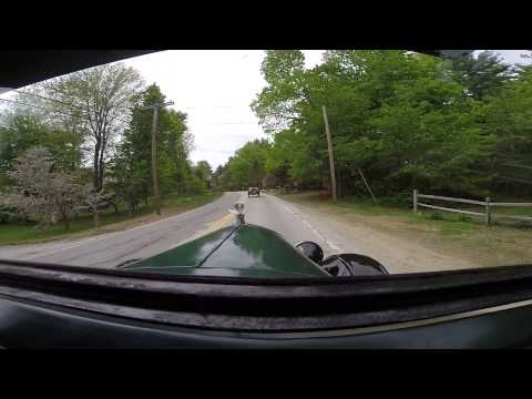 Central New Hampshire Model T Club on tour