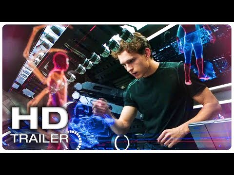 SPIDER MAN FAR FROM HOME Peter Creates New Spider Suit Trailer (NEW 2019) Superhero Movie HD