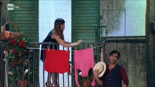 Il Boogie di Massimiliano Morra e Sara Di Vaira - Ballando con le Stelle 22/04/2018