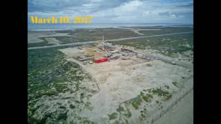E.K. Atwood Park, Construction Time Lapse, South Padre Island, TX
