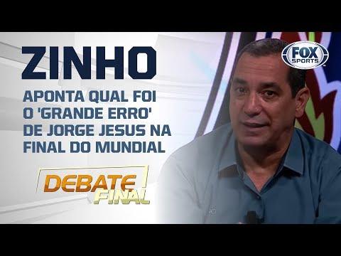 🔴⚫ Zinho Aponta Qual Foi O 'grande Erro' De Jorge Jesus Na Final Do Mundial; Veja