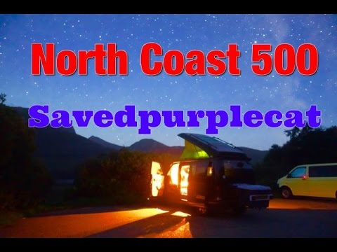 North Coast 500 Wild Camping Mazda Bongo