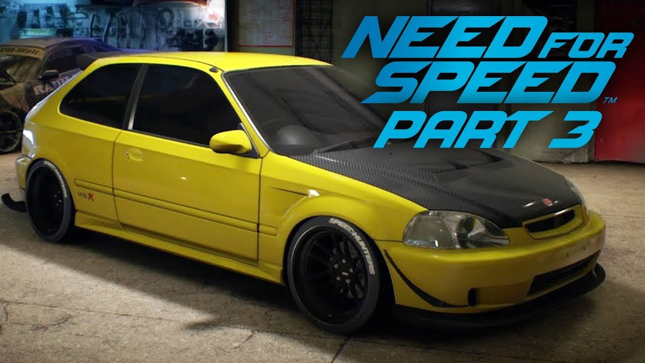 NEED FOR SPEED 2015 Gameplay Teil 3 - Bürgerliche Anpassung + video