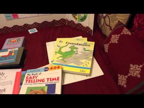 Homeschool Vlog Hop Curriculum Choices - Kindergarten