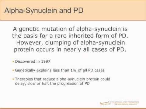 "Webinar: ""Genetics and Parkinson's Disease"" September 2013 ..."