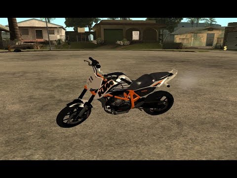 Riding KTM Duke 690 In Gta San Andreas/MOD