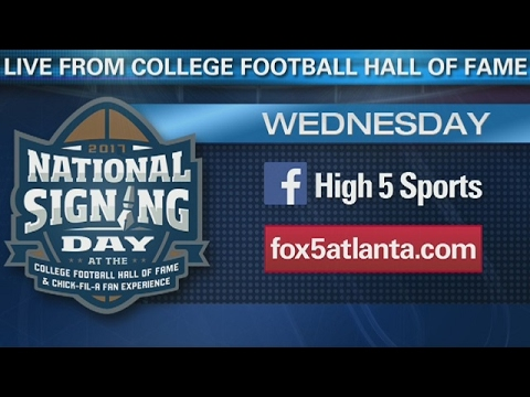 National Signing Day live from the College Football Hall of Fame