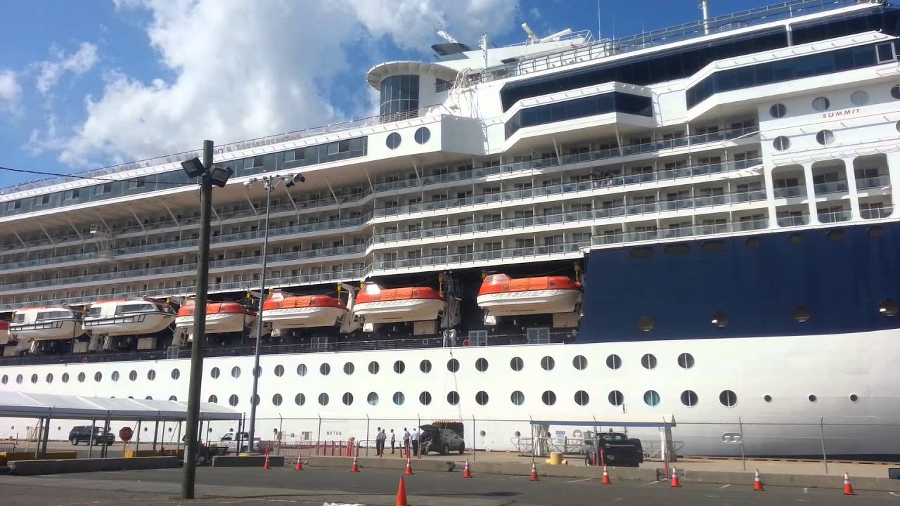 Celebrity cruise summit bayonne
