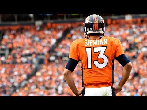 Trevor Siemian ULTIMATE Highlights VS Chargers 2017