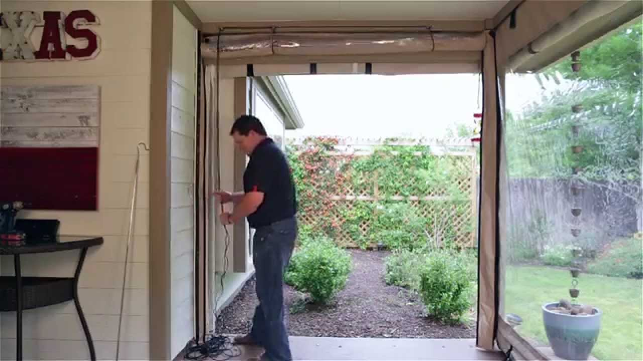 How to operate your new patio curtains by Southern Patio ...