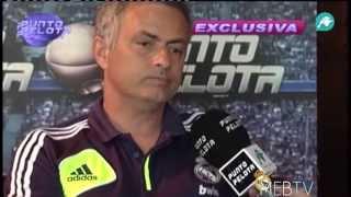Real Madrid: Entrevista a Mourinho en Punto Pelota (primera parte)