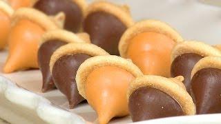 How To Make Chocolate Kisses Acorn Treats