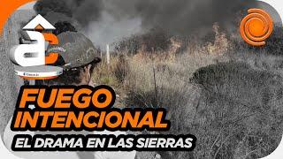 """Incendio en Carlos Paz: """"Arrancaron dos focos al mismo tiempo"""""""