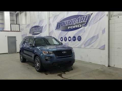 2019 Ford Explorer Sport 400A W/ 3.5L EcoBoost, Leather Overview | Boundary Ford