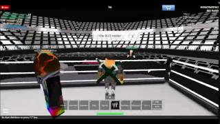 WWE: The Best ROBLOX WWE Game Ever