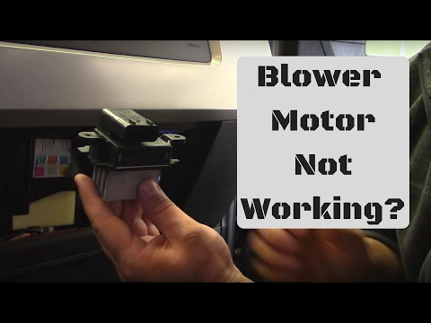 Ford F150 / Expedition Blower Speed Control Replacement