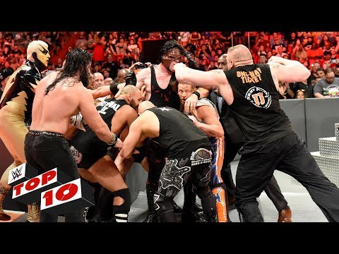 Top 10 Raw moments: WWE Top 10, January 1, 2017