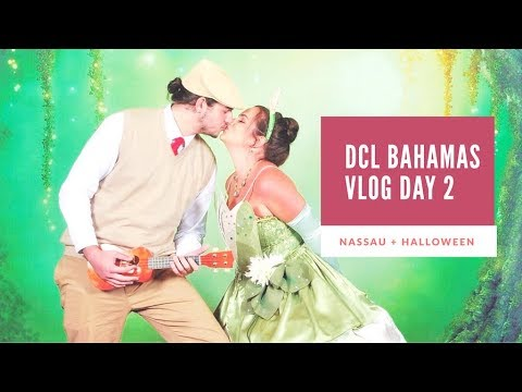 Disney Dream Bahamas Vlog Day 2 | Nassau + MICKEY'S MASQUERADE PARTY thumbnail