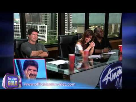 Ant & Dec Prank simon cowell MUST SEE