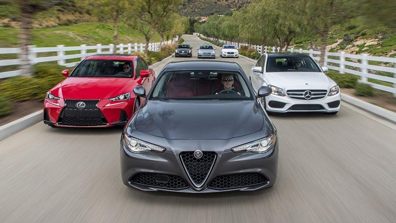 Alfa Romeo Giulia Vs Audi A4 Mercedes C Cl Cadillac Ats Jaguar Xe Lexus Is