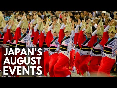 Things To Do In Japan In August | Summer Festivals and Events | Lin Nyunt