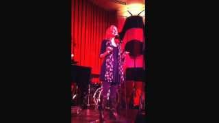 Open mic at Crazy Coqs