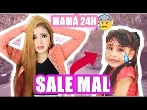 24 horas SIENDO MAMÁ | SALE MAL ( SE ME PERDIÓ )