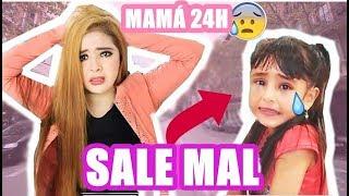 24 horas SIENDO MAMÁ | SALE MAL ( SE ME PERDIÓ ) | CRISS HUERA thumbnail