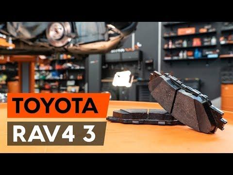 Как заменить тормозные колодки переднего дискового тормоза на TOYOTA RAV 4 XA30 [ВИДЕОУРОК AUTODOC]