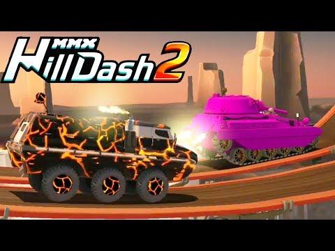 MMX HILL DASH 2 машины монстры ПРОХОЖДЕНИЕ FUN VIDEO FOR KIDS cars мультяшная видео игра про машинки