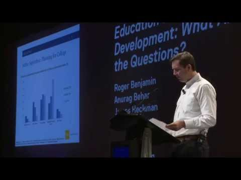 Education and Human Development: What are the questions?