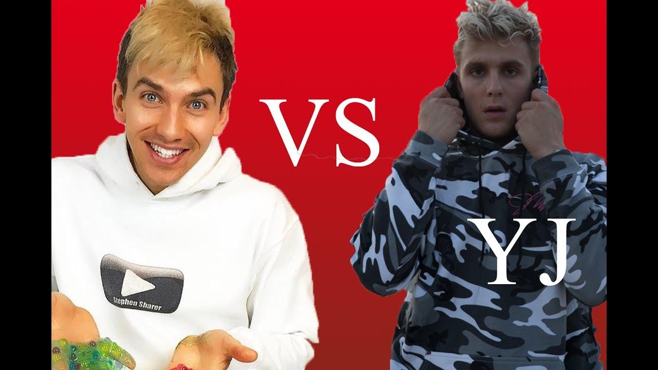 Stephen Sharer is BETTER than Jake Paul - YouTube Stephen Sharer Youtube