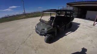 Polaris Ranger 800 Crew Test Drive