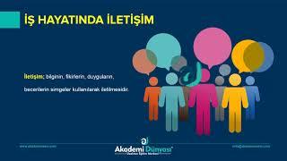 Uzaktan Eğitim | Hasta Kabul | İŞ HAYATINDA İLETİŞİM    | Eylem Altan