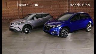 Honda HR-V 2019 vs Toyota C-HR 2019 overview, Exterior, comfort, Convenience and Utility