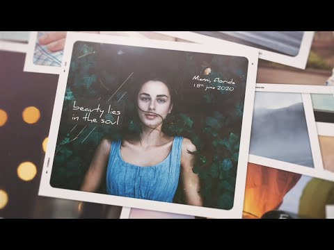Memories Lane / Photo Slideshow ( After Effects Template )