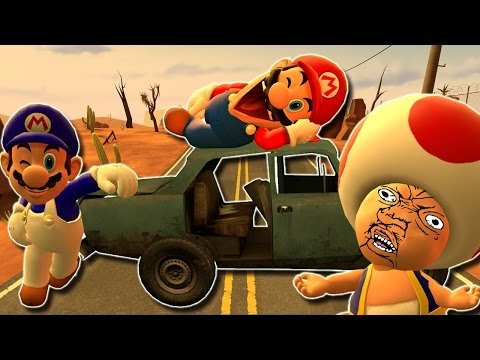 Thumbnail: Retarded64: Mario's Road Trip