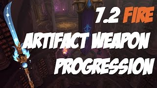 FIRE MAGE | 7.2 Artifact Weapon Progression