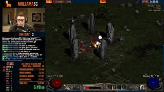 Diablo 2 - Hell HC Any% Assassin Speedrun! (09/12/2019)