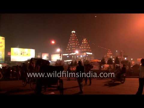 Night view of Patna city: Bihar