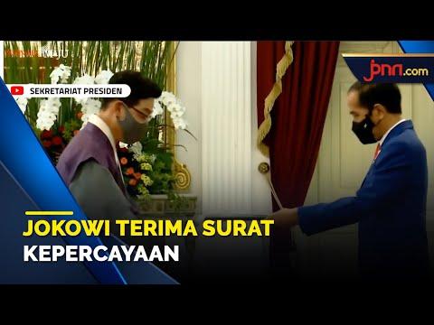 Jokowi Terima Surat Kepercayaan Tujuh Duta Besar Negara Sahabat