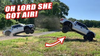 How To Properly Drive A Ford Raptor...