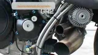 Hayabusa turbo!!! moto Ghost rider